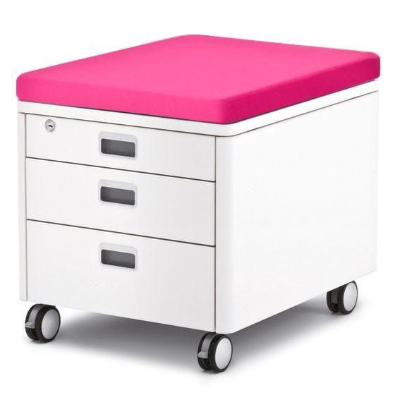 moll cubic sahtliboks roosa kattepadjaga